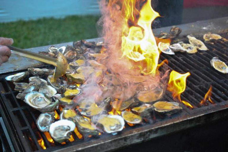 Forks & Corks, Half Shell Seafood House | © Larry Hoffman/Flickr
