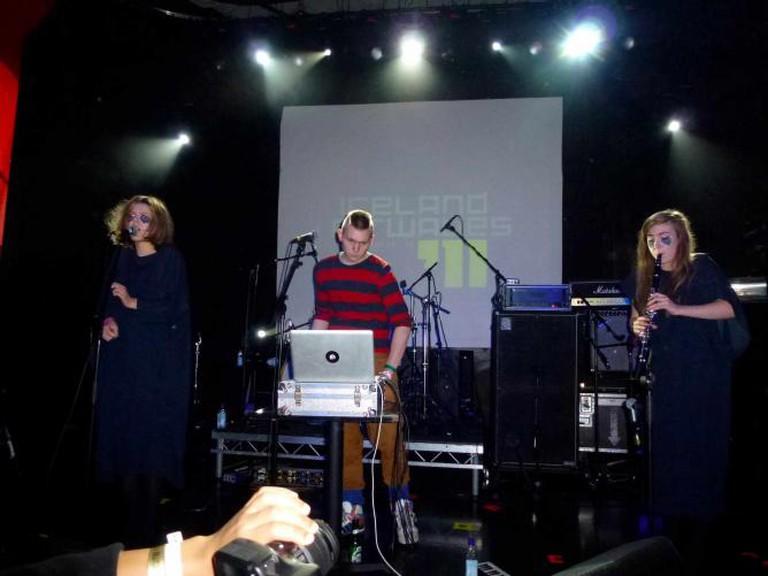Icelandic Band Samaris performing at Iceland Airwaves, 2011 | © StyleBoyle/WikiCommons