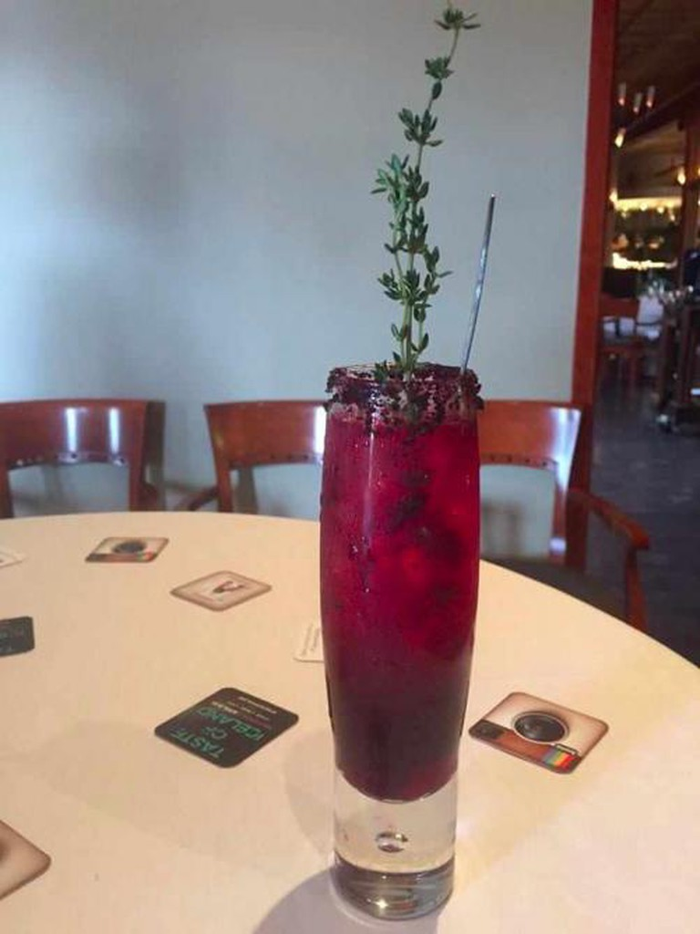 """Viktolicious"" cocktail with Reyka Vodka, Taste of Iceland Edmonton 2015 | © Iceland Naturally 2015"