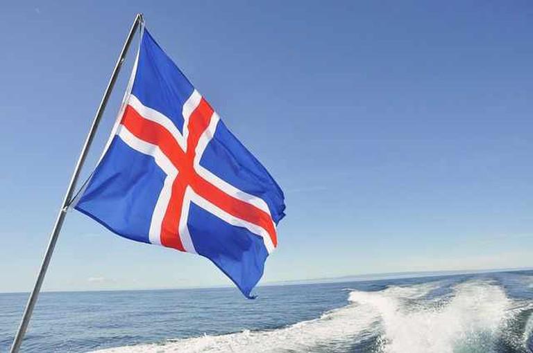 Flag of Iceland | © Pixabay 2015