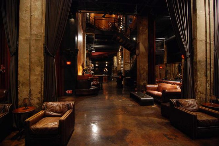 Lounge space at the Edison. Image courtesy of the Edison