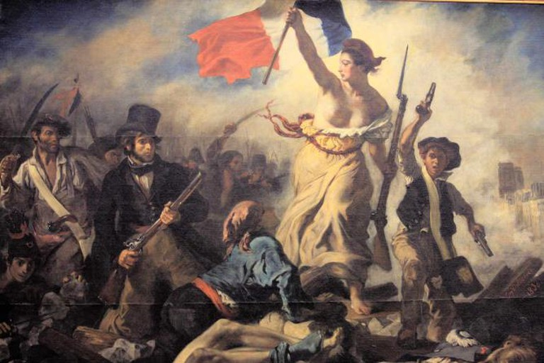 Liberty Leading the People by Eugene Delacroix| © Mookiefl/Flickr