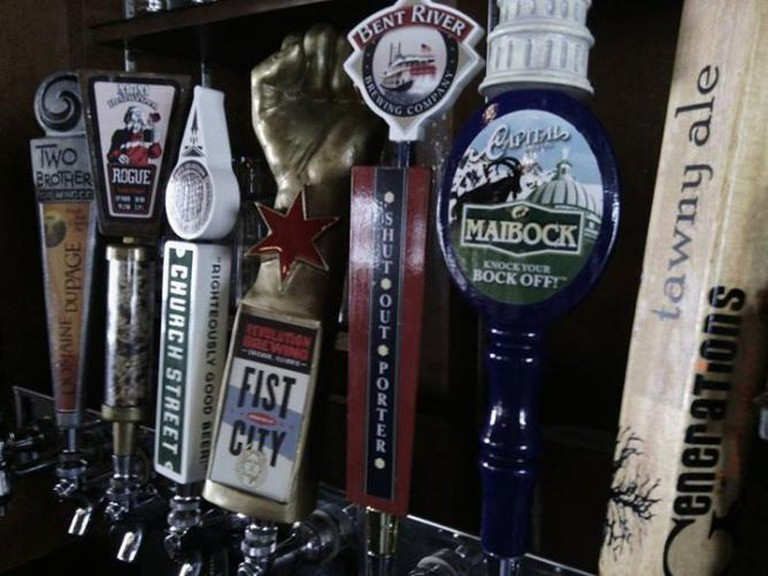Beer drafts | Courtesy of Garrett's Restaurant and Bar