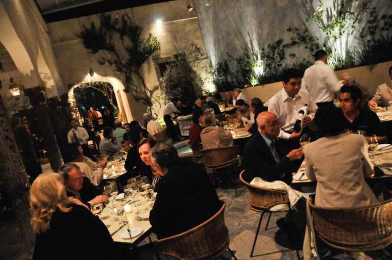 The Restaurant Courtyard