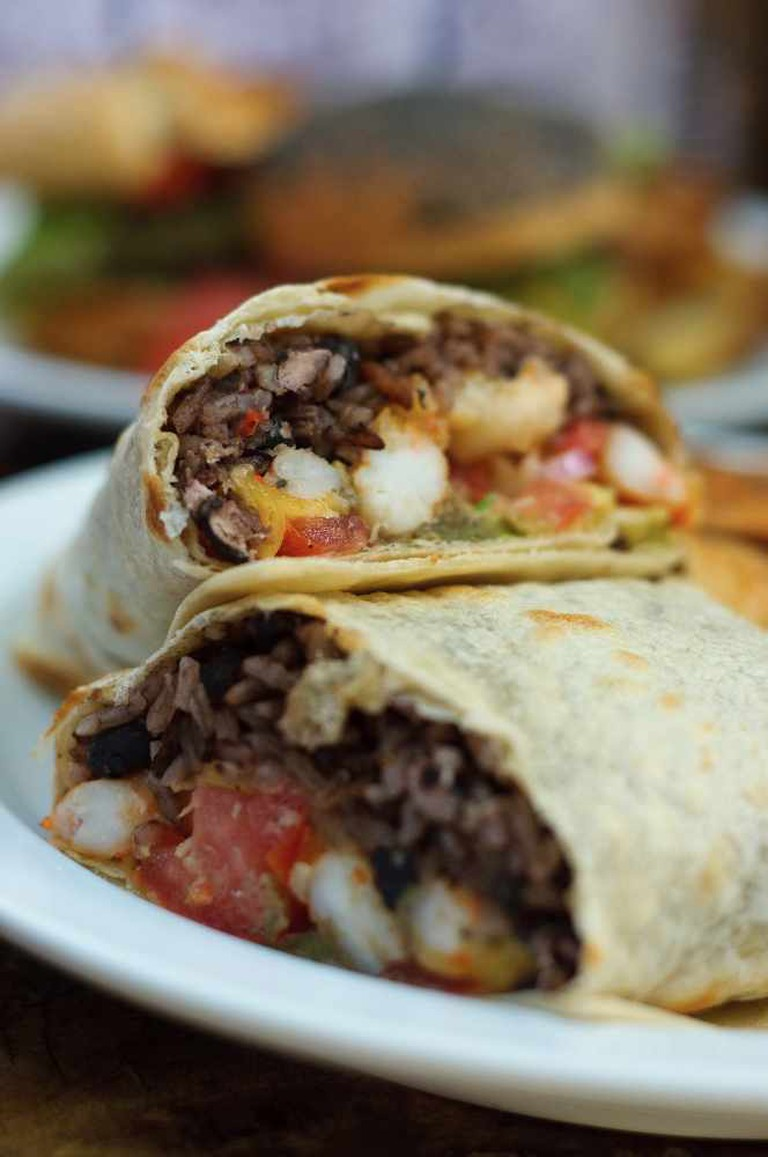 Shrimp Burrito | © BryanGuzman/Flickr