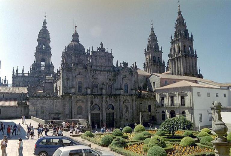 Cathedral square Santiago de Compostela | NielsB/WikiCommons