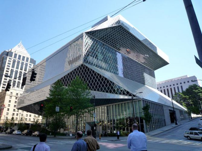 Seattle Central Library |  © Bobak/Wikicommons