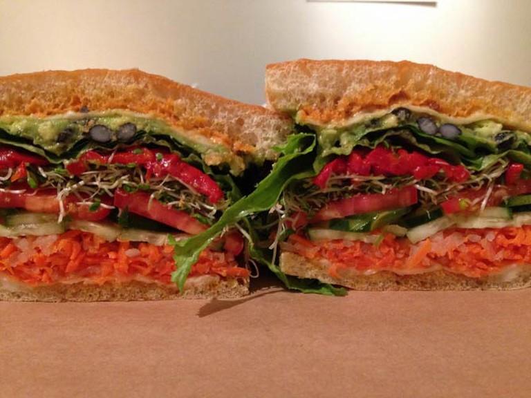 Signature Sandwich | Courtesy of Graze