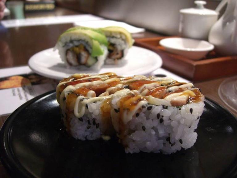 Sushi rolls | © Alpha/WikiCommons