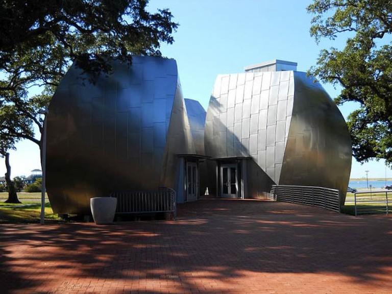 Ohr-O'Keefe Museum of Art, Pod Pavilion | © Woodlot/Courtesy of WikiCommons