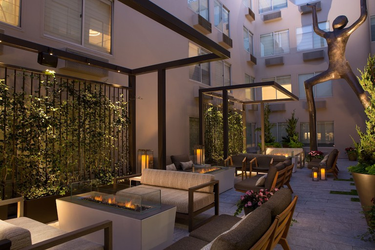 Hotel Zoe's rooms are kitted out with HDTVs
