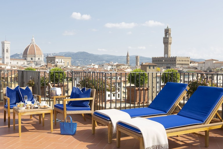 Rooftop at Hotel Lungarno