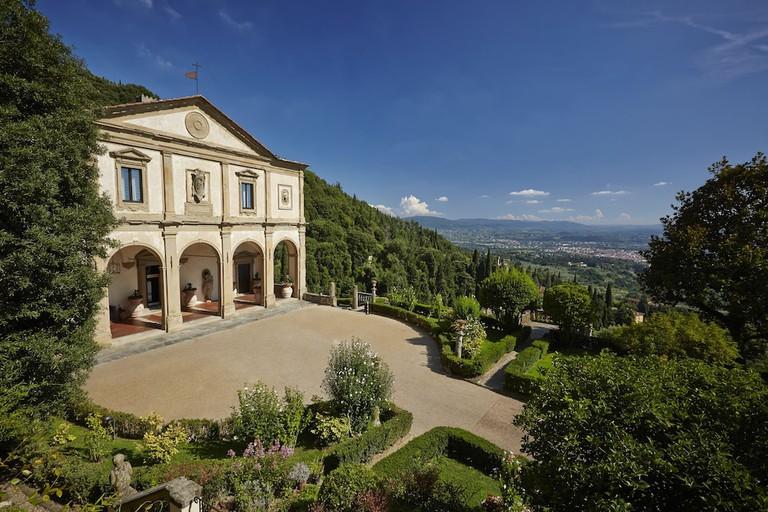 Guest room at Belmond Villa San Michele