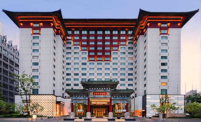 35aaffec Terrace at The Peninsula Beijing