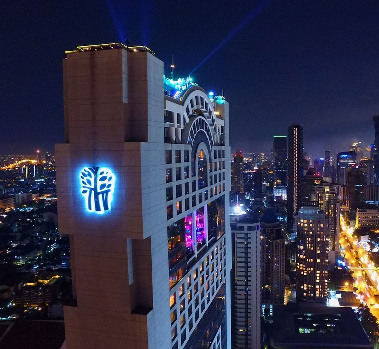 Enjoy unrivalled views of Bangkok at Vertigo and Moon Bar