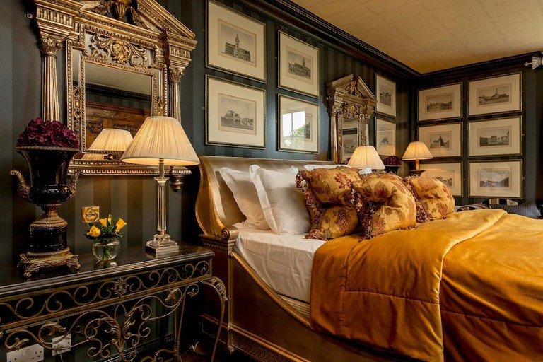 Luxury double room at Prestonfield House