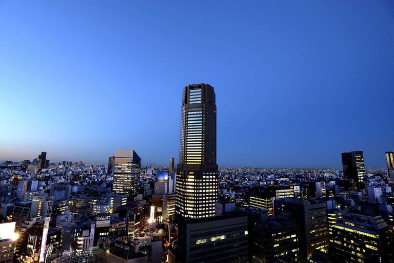 Cerulean Tower Tokyu Hotel, Shibuya.
