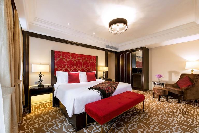 Each room at The Yangtze Boutique Shanghai features a balcony