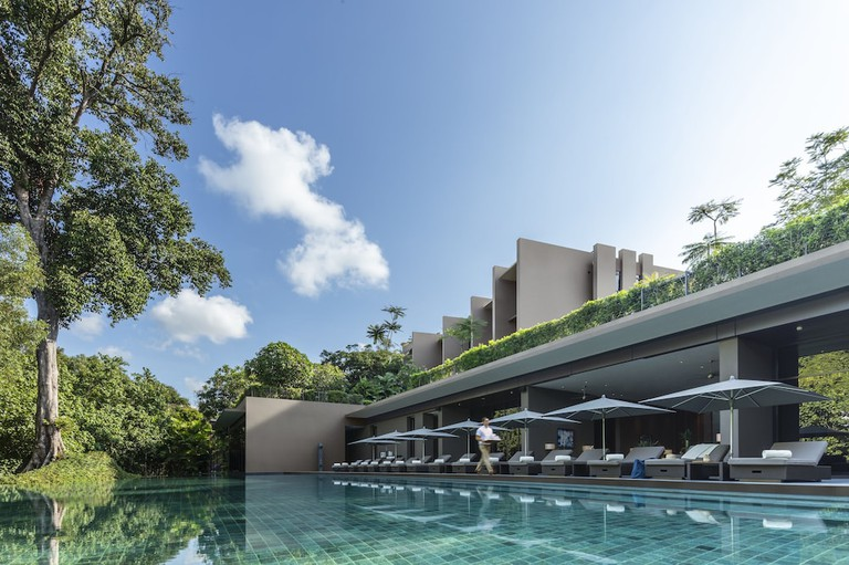Cascading Pools   Courtesy of Capella Singapore