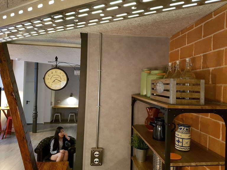 Right next to Atocha station, this hostel is perfect if you want to stay in the hustle and bustle of the city