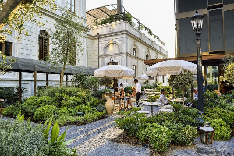 The building Soho House Istanbul is housed in was originally the home of a Genoese merchant and shipbuilder