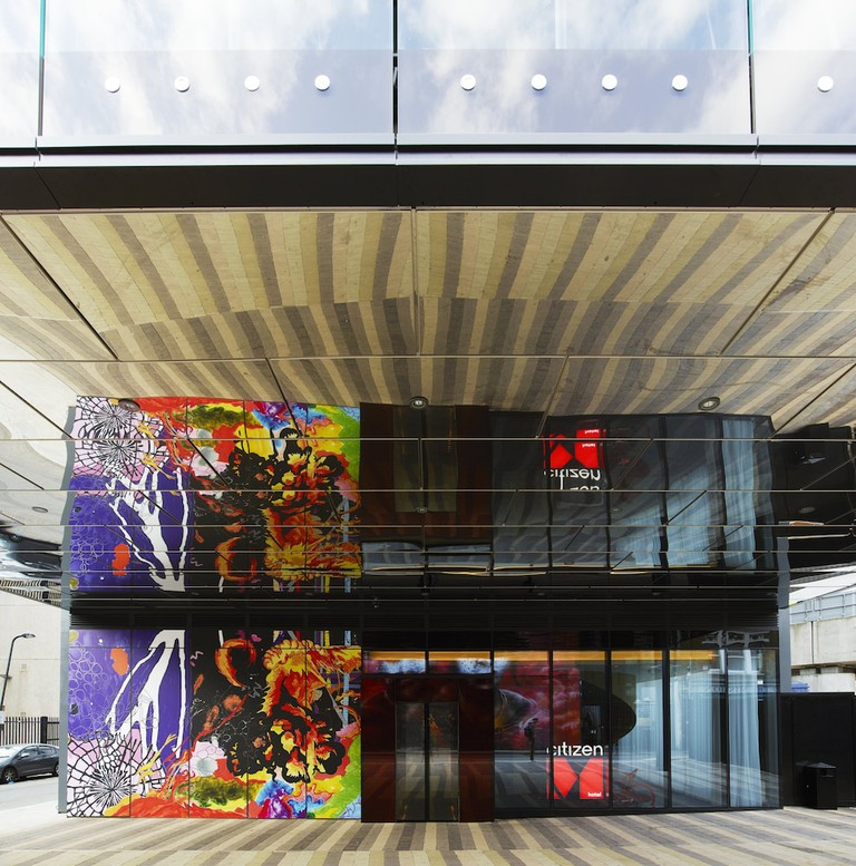 The rooms at citizenM London Shoreditch are compact but functional
