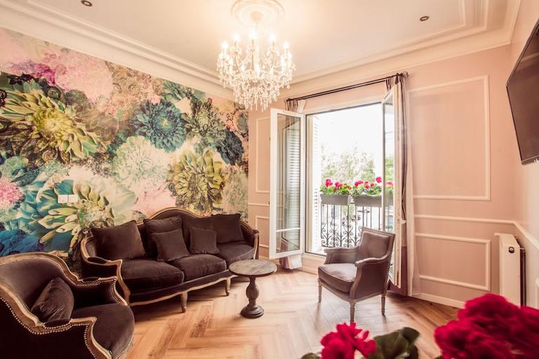 Guestroom at La Maison Gobert