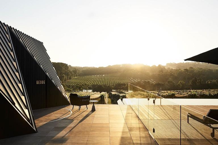 Jackalope hotel and vineyard, Victoria, Australia