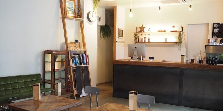 Almond Hostel & Café Shibuya is in the peaceful hub of Yoyogi Hachiman