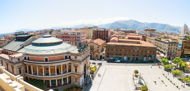 Hotel Politeama Palermo view from suite