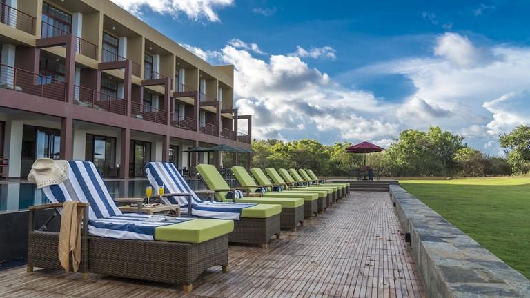 Sooriya Resort from the beach
