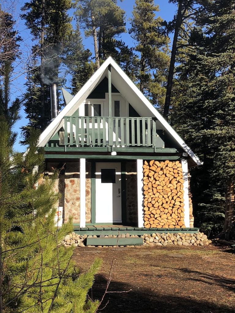 Rustic Luxury Off-Grid Wilderness Cabin