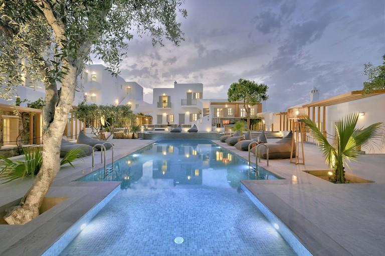 Petinos Beach Hotel's swimming pool