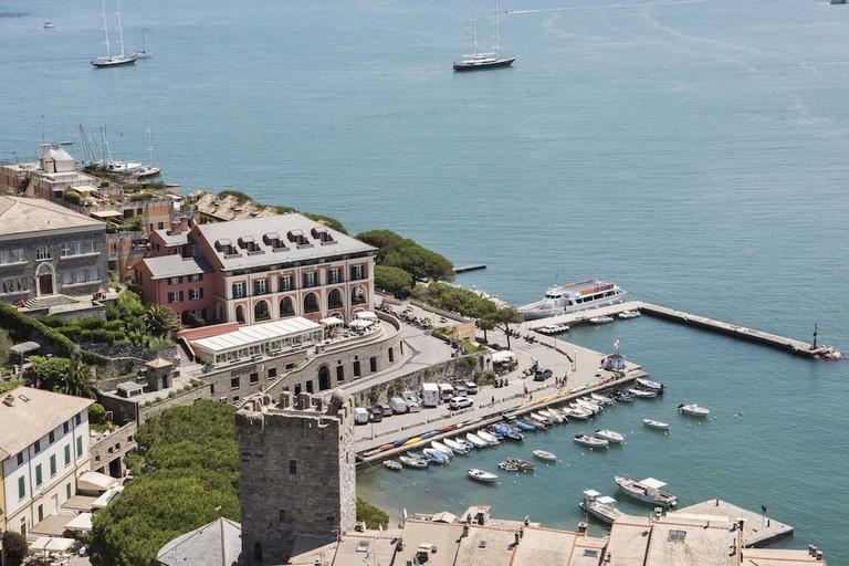 The Village Of Portovenere La Spezia, Cinque Terre, Liguria, Italy