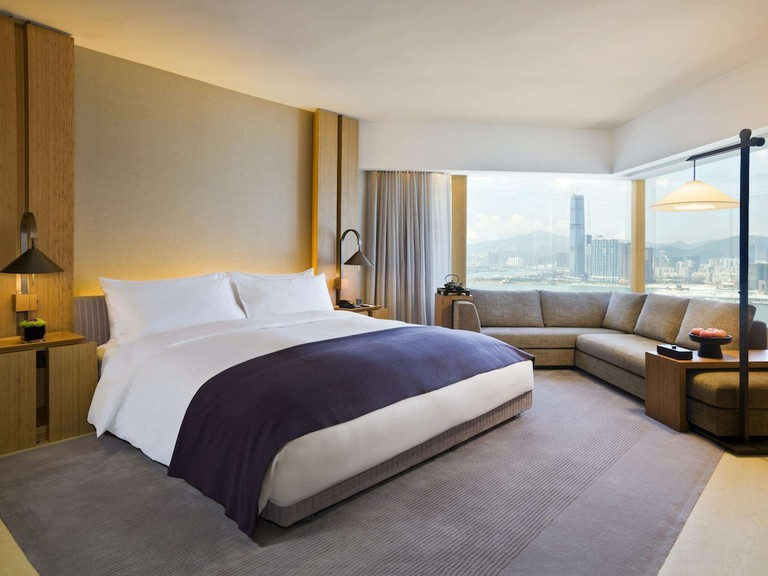 The Upper Suites boast sweeping harbour and island views