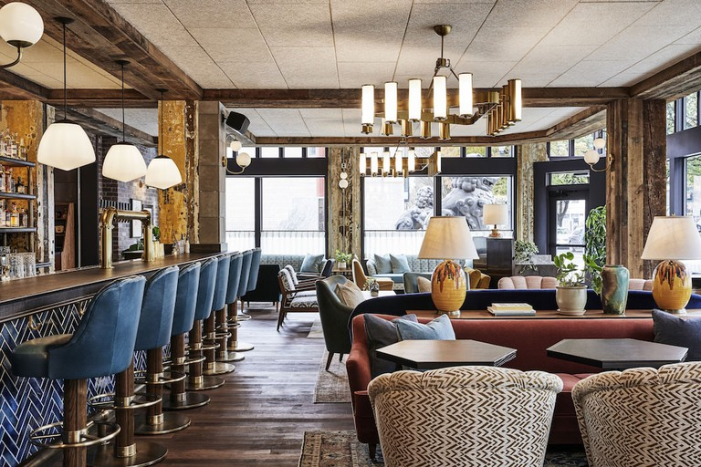 Light and spacious seating areas await at The Hoxton Portland