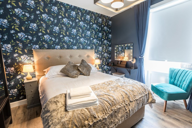 Guest room at The Torfin
