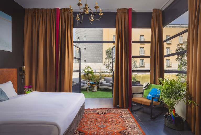 Double room at Inta Hotel