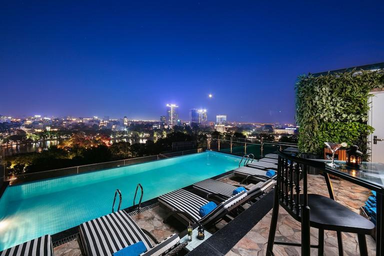 The Oriental Jade Hotel Hanoi pool
