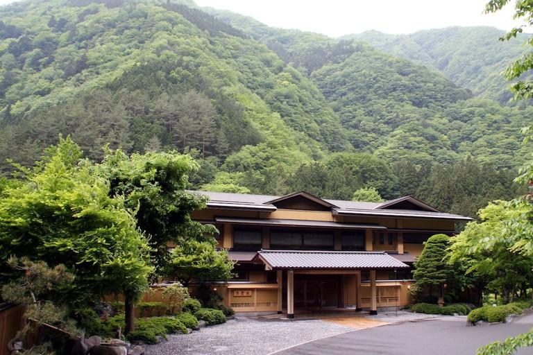 Nishiyama Onsen Keiunkan, Japan