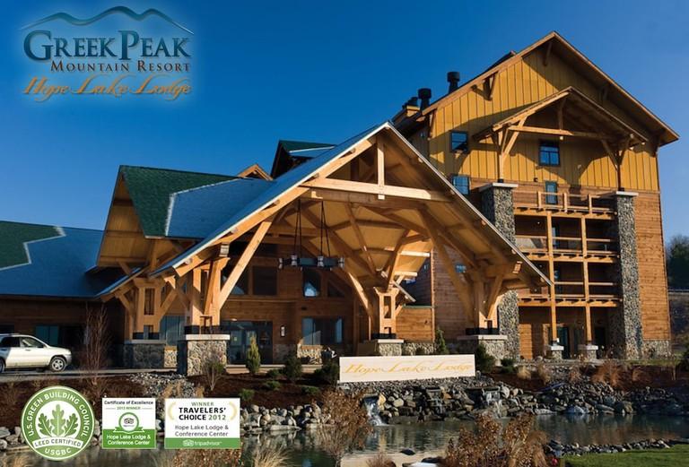 Hope Lake Lodge & Indoor Waterpark, Upstate New York