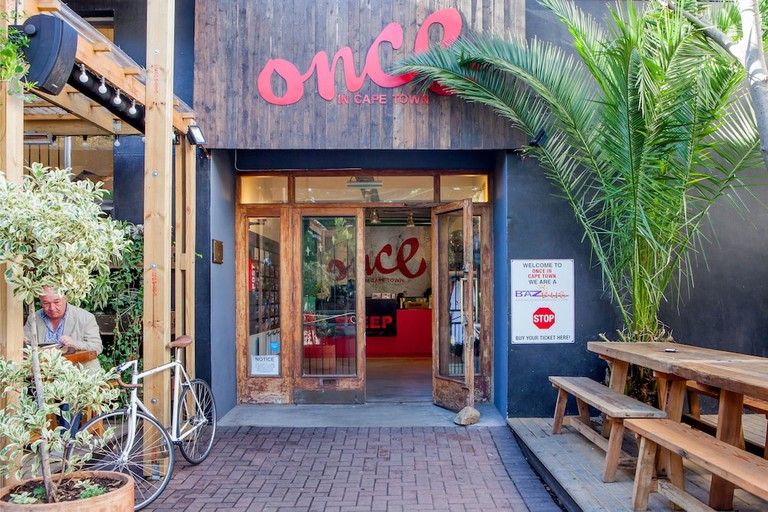 Once in Cape Town bar exterior