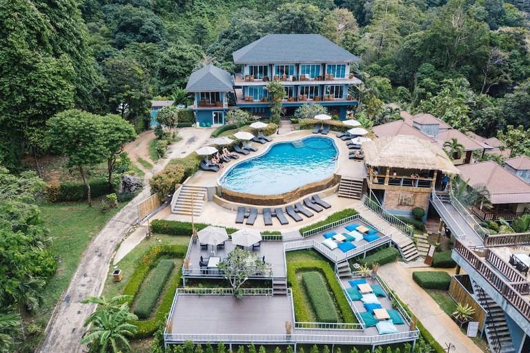 Guest room at the Railay Phutawan Resort.
