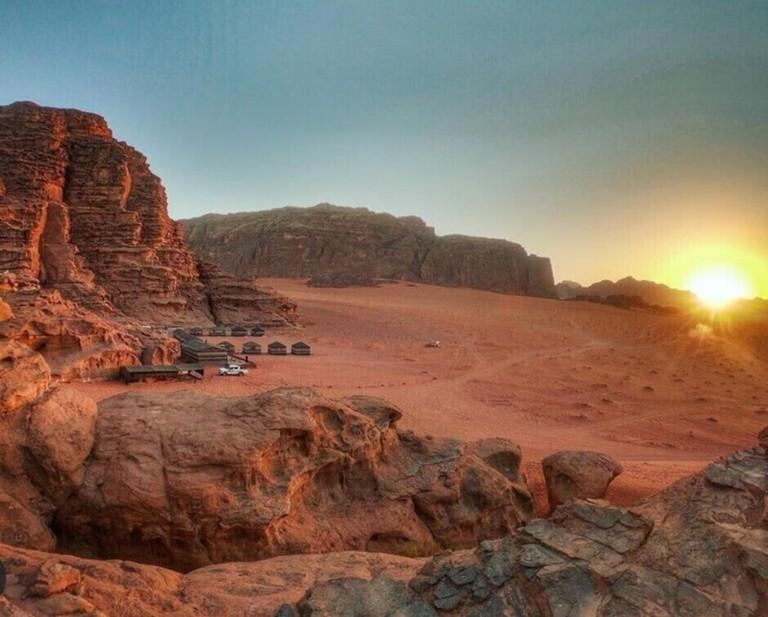 Beduin Camp, Wadi Rum Desert, Jordan