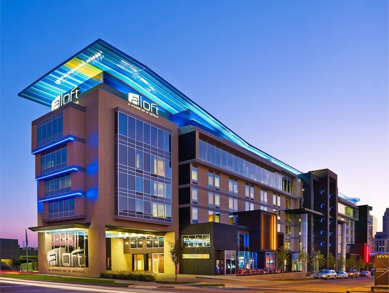 Aloft Oklahoma City Downtown – Bricktown