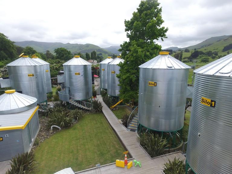 SiloStay, New Zealand 3