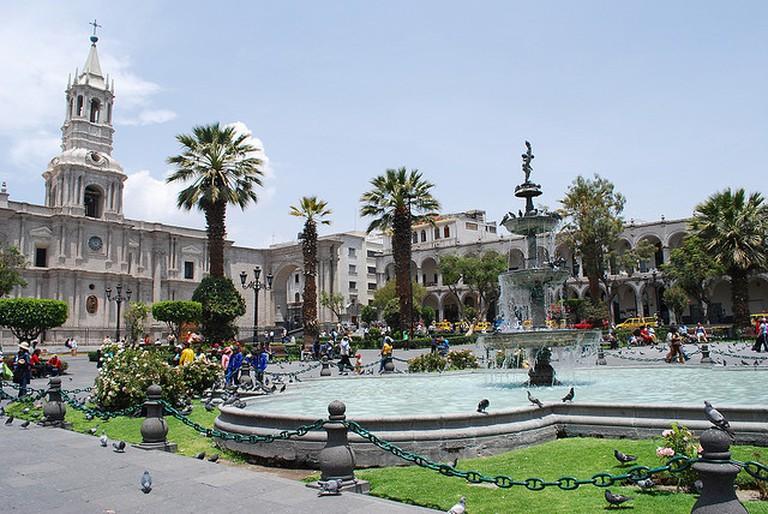 Plaza de Armas de Arequipa | © Ivan Mlinaric/Flickr