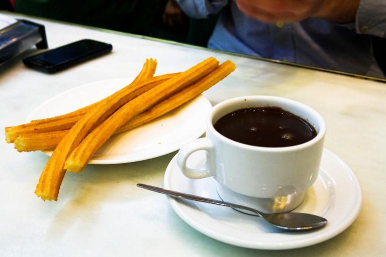 Churros at Hot Chocolate ©Marta Lino