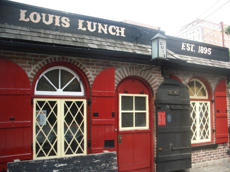 Exterior of Louis Lunch © larryfishkorn