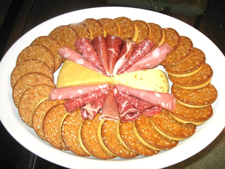Charcuterie, Cheese, and Crackers